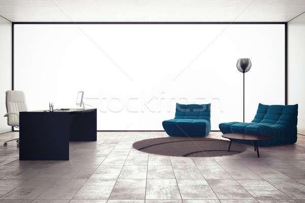 3d office Management office Stock photo © alphaspirit
