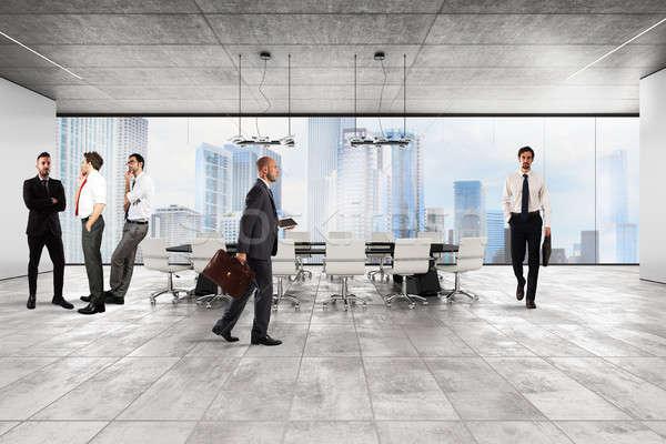 Executivo escritório corporativo empresários luxo Foto stock © alphaspirit