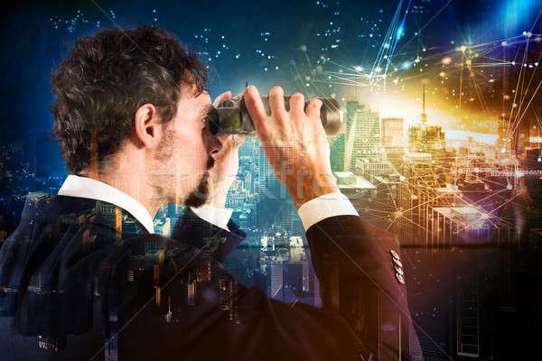 Looking to the future Stock photo © alphaspirit