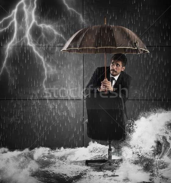 Protection from disaster Stock photo © alphaspirit