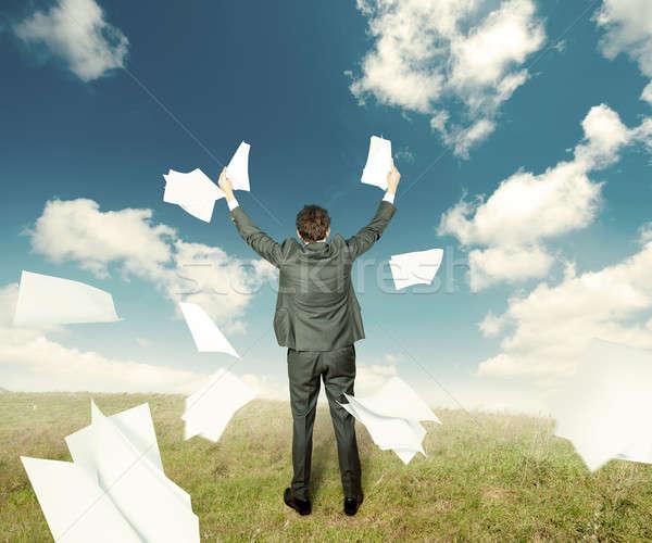 Success in business Stock photo © alphaspirit