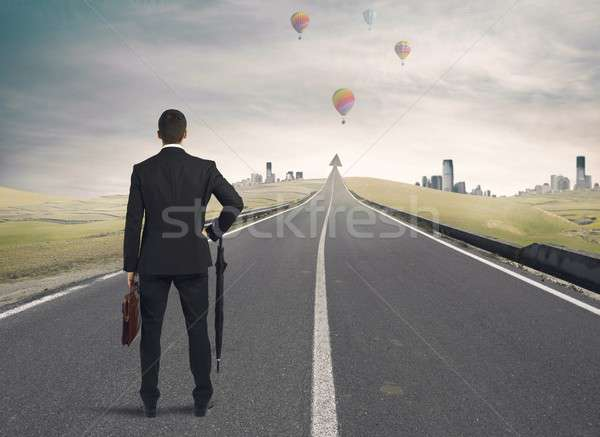 The road to success Stock photo © alphaspirit