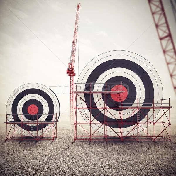 Budować działalności cel więcej ważny Zdjęcia stock © alphaspirit