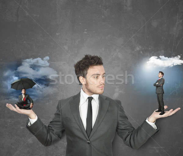 Be positive or negative Stock photo © alphaspirit