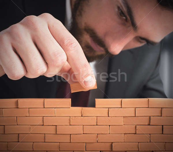 Build the business Stock photo © alphaspirit