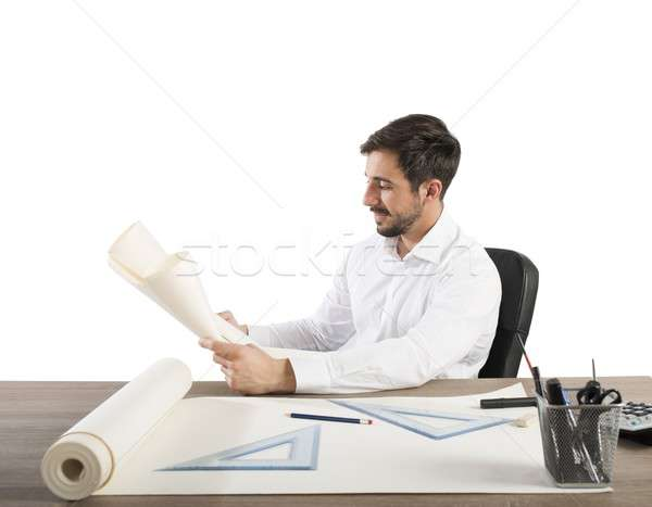 Architect welcomes project Stock photo © alphaspirit