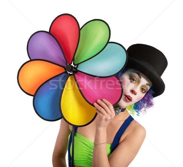 Clown with helix Stock photo © alphaspirit