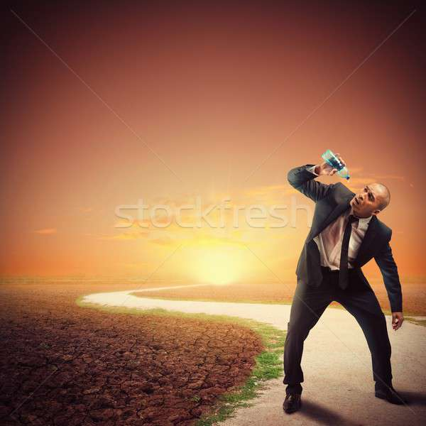 Economic desperation Stock photo © alphaspirit