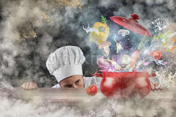 Magic kitchen Stock photo © alphaspirit