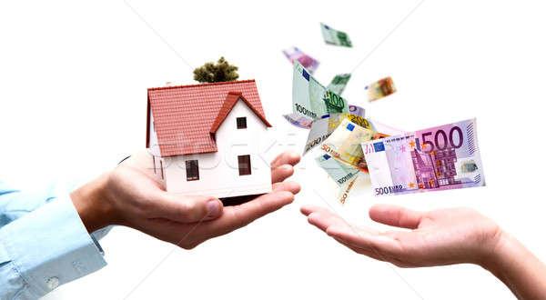 Buy a house Stock photo © alphaspirit
