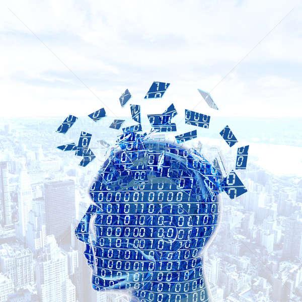 Digital mind Stock photo © alphaspirit