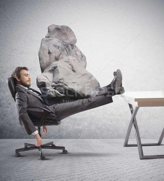Stress at work Stock photo © alphaspirit