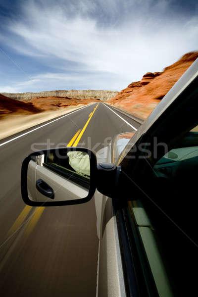roadtrip Stock photo © alptraum