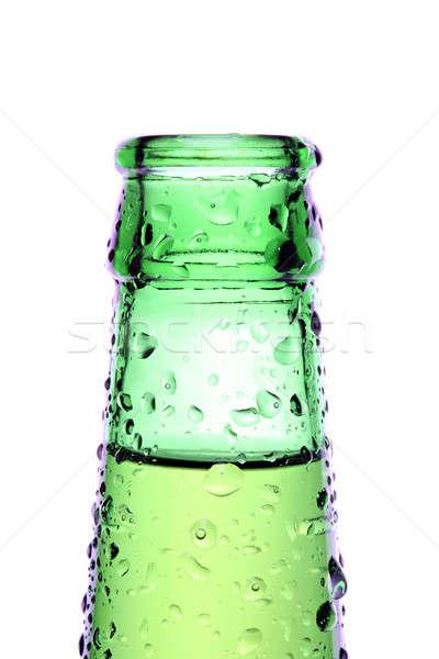 Butelki odizolowany biały zielone Zdjęcia stock © alptraum