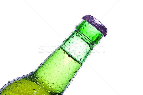şişe yalıtılmış beyaz su Stok fotoğraf © alptraum