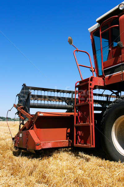 combine on field Stock photo © alptraum