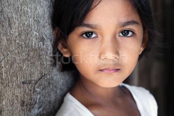 Filippijnen filipina meisje portret mooie Stockfoto © alptraum