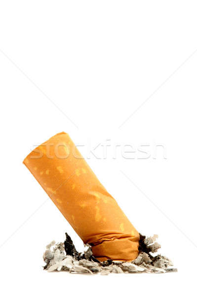 cigarette butt isolated Stock photo © alptraum