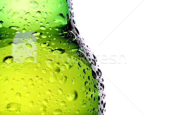wet beer bottle abstract Stock photo © alptraum
