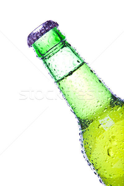 green bottle isolated Stock photo © alptraum