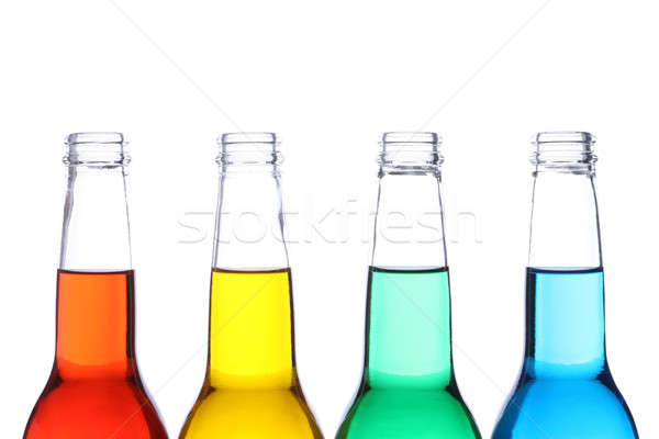 bottles colored isolated Stock photo © alptraum
