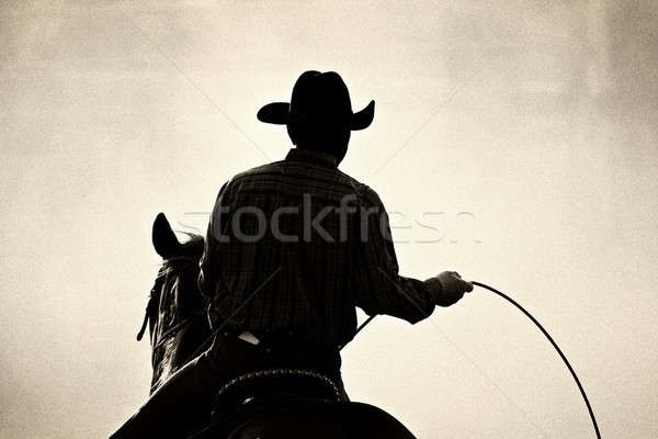 cowboy rodeo Stock photo © alptraum