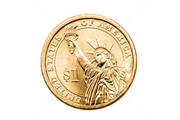 dollar coin isolated Stock photo © alptraum