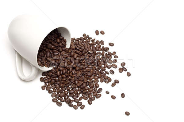 spill the beans Stock photo © alptraum