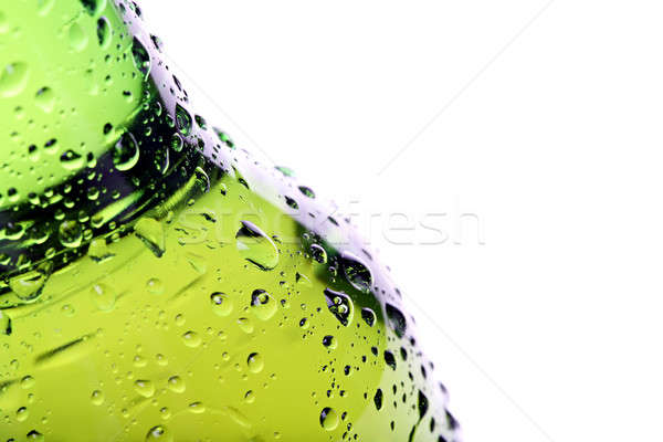beer bottle abstract isolated Stock photo © alptraum