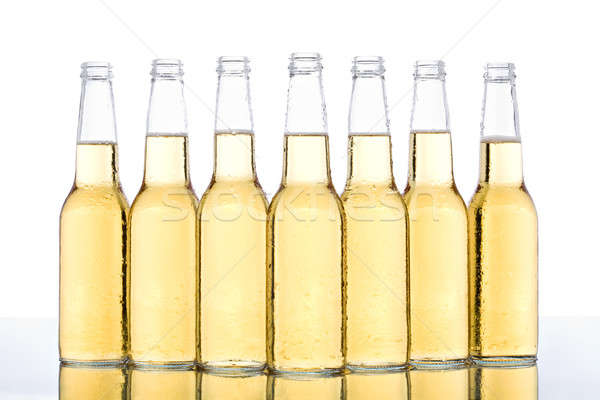 beer bottles Stock photo © alptraum