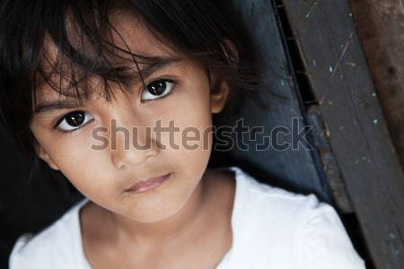 Young Asian girl portrait Stock photo © alptraum