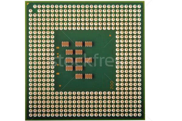 процессор процессор изолированный белый компьютер Сток-фото © Alsos