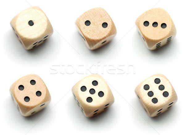 casino würfel weiß