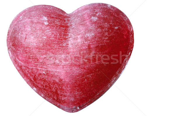 Red Candy Heart Stock photo © Alsos