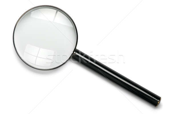 Magnifying glass Stock photo © Alsos