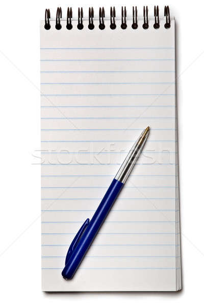Notebook with pen Stock photo © Alsos