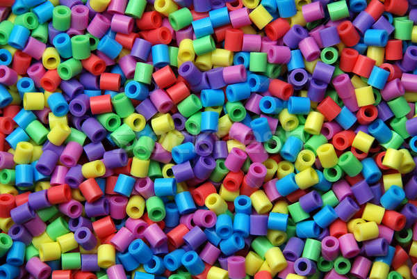 Colorful beads Stock photo © Alsos