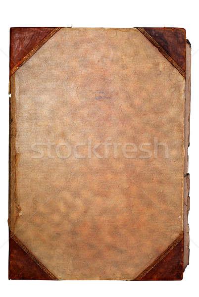 Papel viejo espacio texto imagen textura Foto stock © Alsos