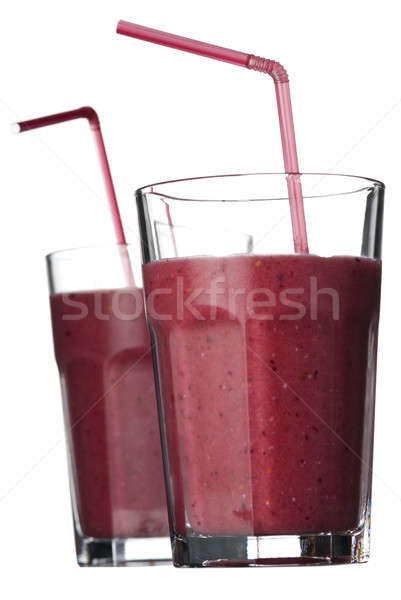 Smoothies isolated on white Stock photo © Alsos