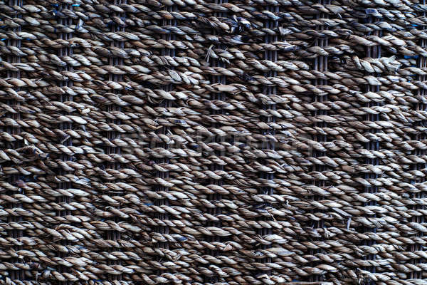 Rattan weave background Stock photo © Alsos