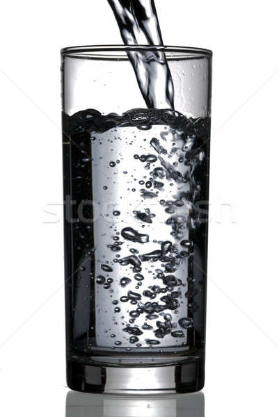 glass of water Stock photo © Alsos