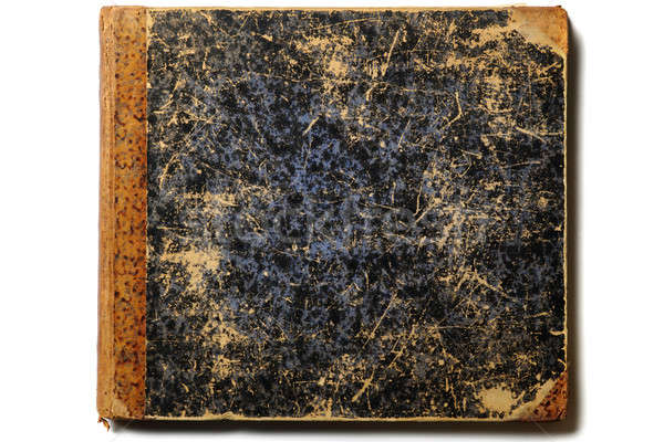 Libro viejo cubrir aislado blanco libro diseno Foto stock © Alsos