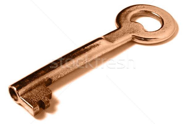 Dorado clave blanco suave sombra negocios Foto stock © Alsos