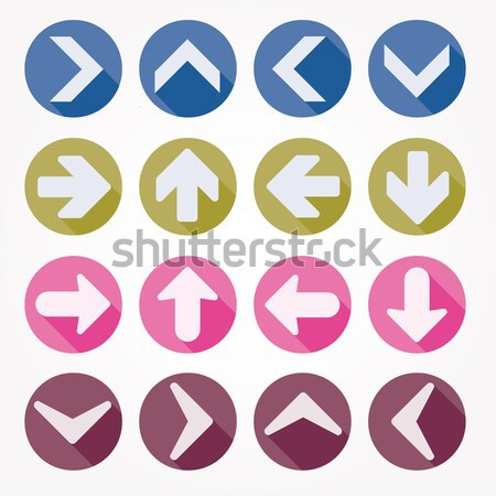 Set Crosses vector Stock photo © alvaroc