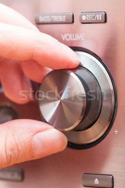 Sound volume control knob  Stock photo © Amaviael