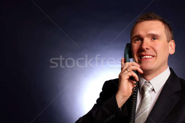 Portrait of business man Stock photo © Amaviael