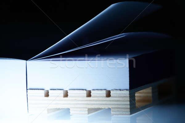 Ream of paper Stock photo © Amaviael