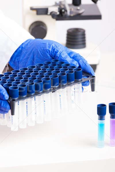 Laboratório equipamento lab técnico corpo Foto stock © Amaviael