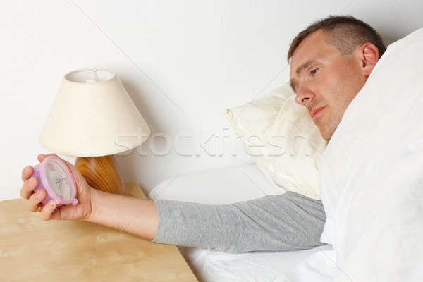 Stock photo: Sleepless man