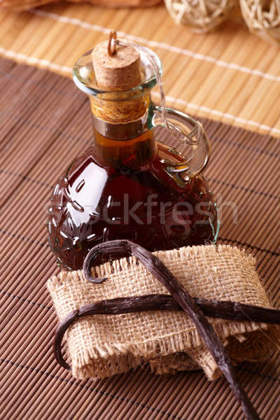Vanilla extract Stock photo © Amaviael